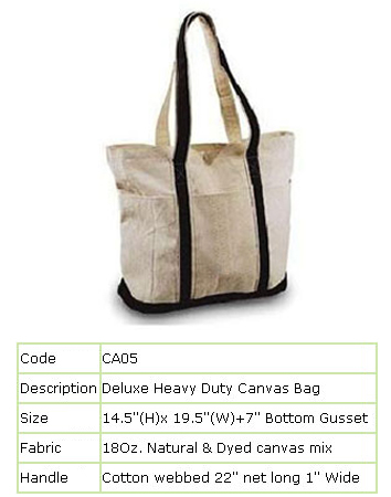 Canvas Bags, Canvas Bags Manufacturers, Canvas Bags Exporters ...